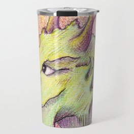 Dragon portrait  Travel Mug