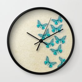 "Coletivo ""Mariposas"" Wall Clock"