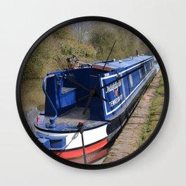Narrowboat Indefatigable Wall Clock