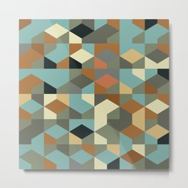 Abstract Geometric Artwork 57 Metal Print