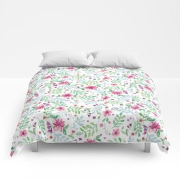 White spring Comforters