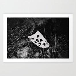 8 of spades Art Print
