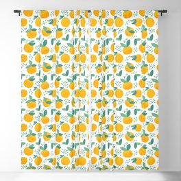 Creative citrus print. Add some vitamins to your life! :) Blackout Curtain