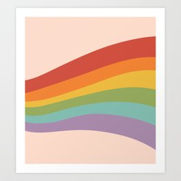 Rainbow Stripes 4 Kunstdrucke