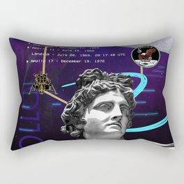 Ancient Gods and Planets: NASA Apollo program Rectangular Pillow