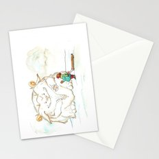 A Friendly Snow Monster Stationery Cards