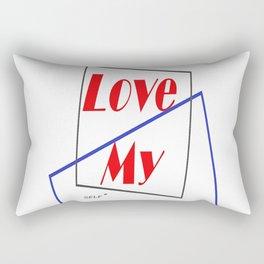 Love My Self* Rectangular Pillow