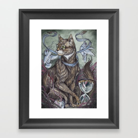 """Time Will Tell""  Framed Art Print"