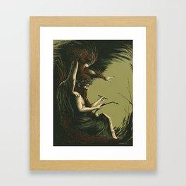 The Seven Kings of Rome – Numa Pompilius Framed Art Print