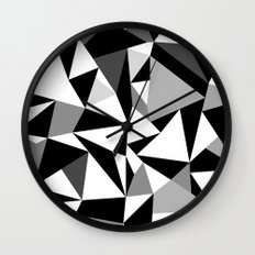 Ab Dark Wall Clock