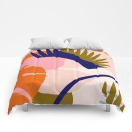 Tropical island II Comforters