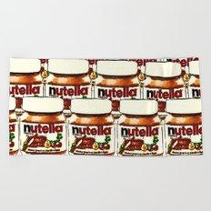 Nutella-263 Beach Towel