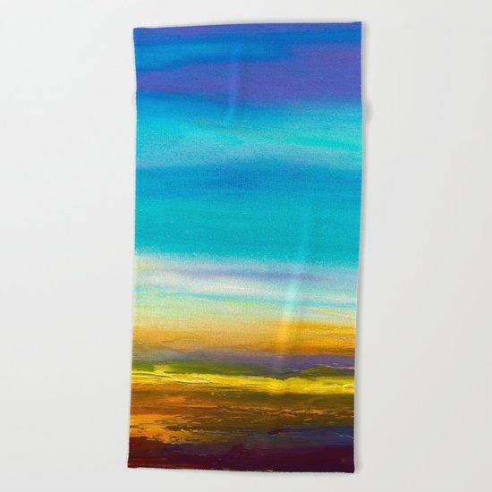 Sky III Beach Towel