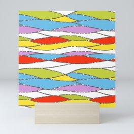 60s Flow Mini Art Print