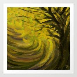 Forest #3DA Art Print