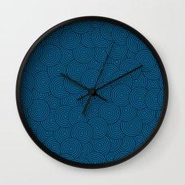Deep Blue Ocean - Abstract Wall Clock
