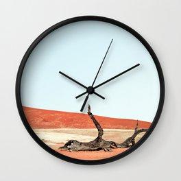Deadvlei I Wall Clock