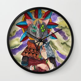 The Shaman Wall Clock