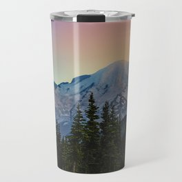 Mount Rainier colors Travel Mug