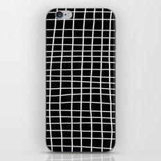 Handdawn Grid Black iPhone & iPod Skin