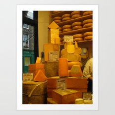 Cheese! Art Print