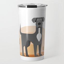 Odin of the Desert Travel Mug