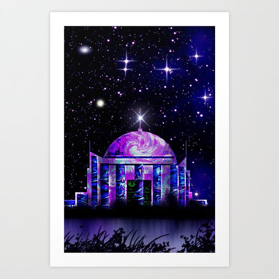 Star House. Art Print