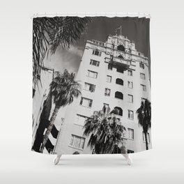 Art District Walk Shot Shower Curtain