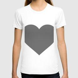 Heart (Grey & White) T-shirt