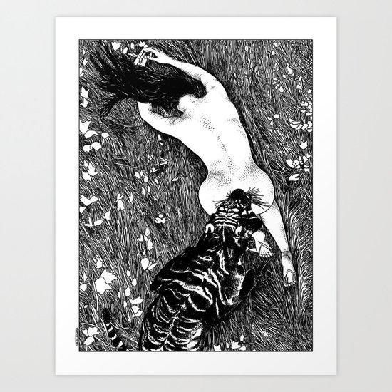 asc 412 - Les hautes herbes (Another John Barleycorn) Art Print