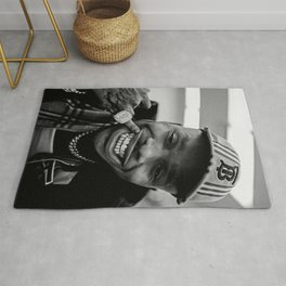 keep smile dababy Rug