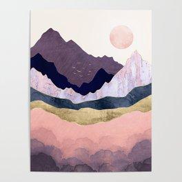 Mauve Mist Poster