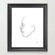 Oneline ANTONI Framed Art Print