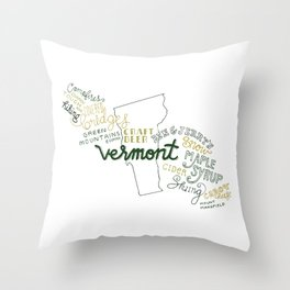 Vermont Throw Pillow