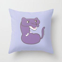 Purple Mink (c) 2017 Throw Pillow