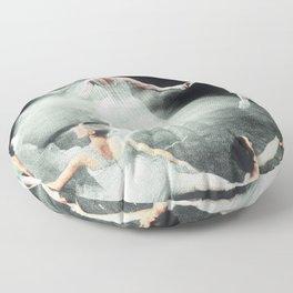 Ghost Dance, Vintage Ballet Floor Pillow