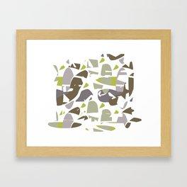Hidden Space II Framed Art Print