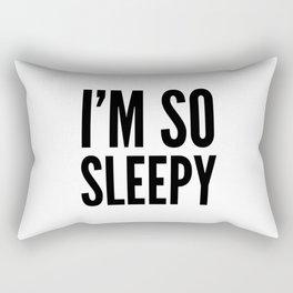 I'M SO SLEEPY Rectangular Pillow