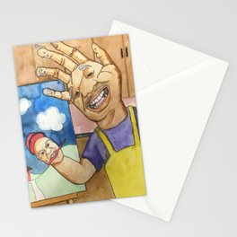 Handy little accidents Stationery Cards
