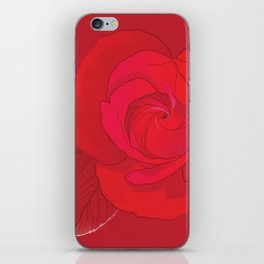 Rosa Ingrid Bergman iPhone Skin
