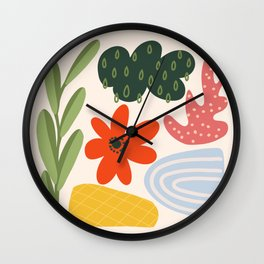 Collection of Happy Things no. 4  Wall Clock