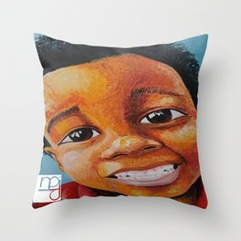 Sourire Maurice Throw Pillow