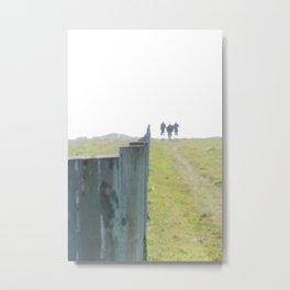 Trails  Metal Print