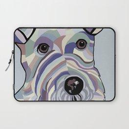 Wire Hair Terrier Denim Colors Laptop Sleeve