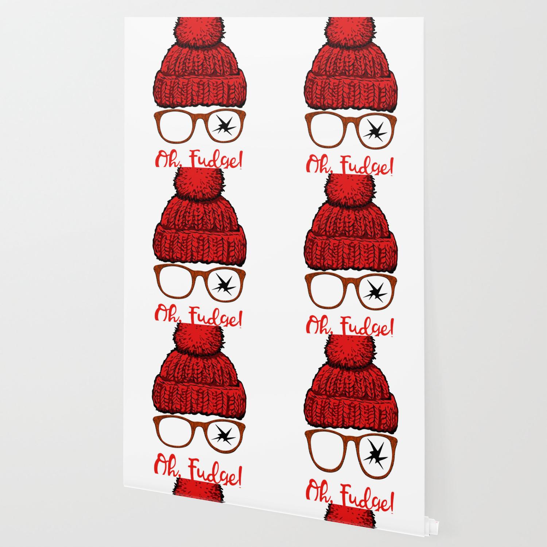 oh fudge funny christmas wallpaper