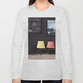 Seats outside Heritage Posters Long Sleeve T-shirt