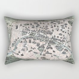 Nouveau Paris monumental Rectangular Pillow