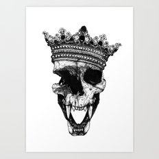 Ancients Kings : The Lion Art Print