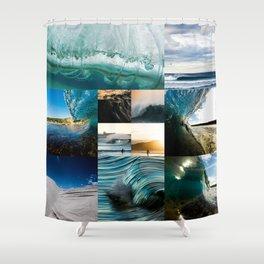 Mashup 24615 Shower Curtain