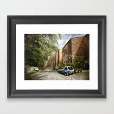 Castel del Piano Framed Art Print